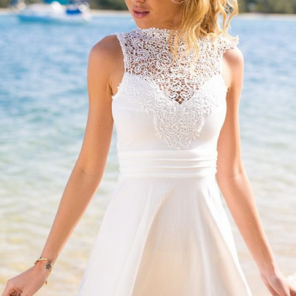 Homecoming Dress,white prom dress,s..