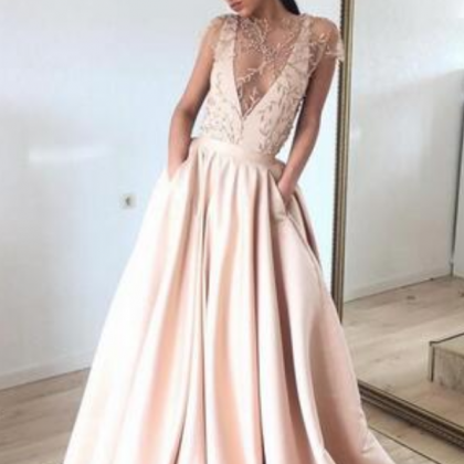 Cheap prom dresses llusion Evening..