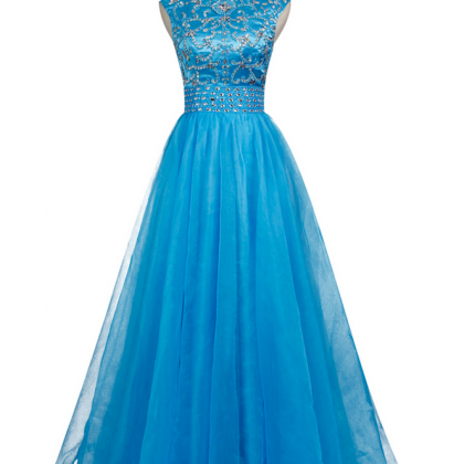 New Arrive Prom Gowns A-line Tulle ..