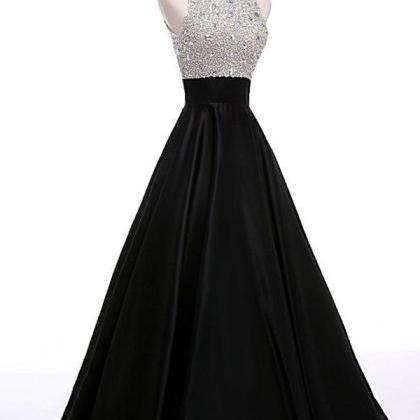 Beading A-line Prom Dresses,Cheap P..