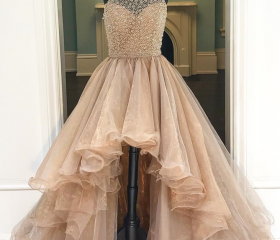 Prom Gown,Champagne ..