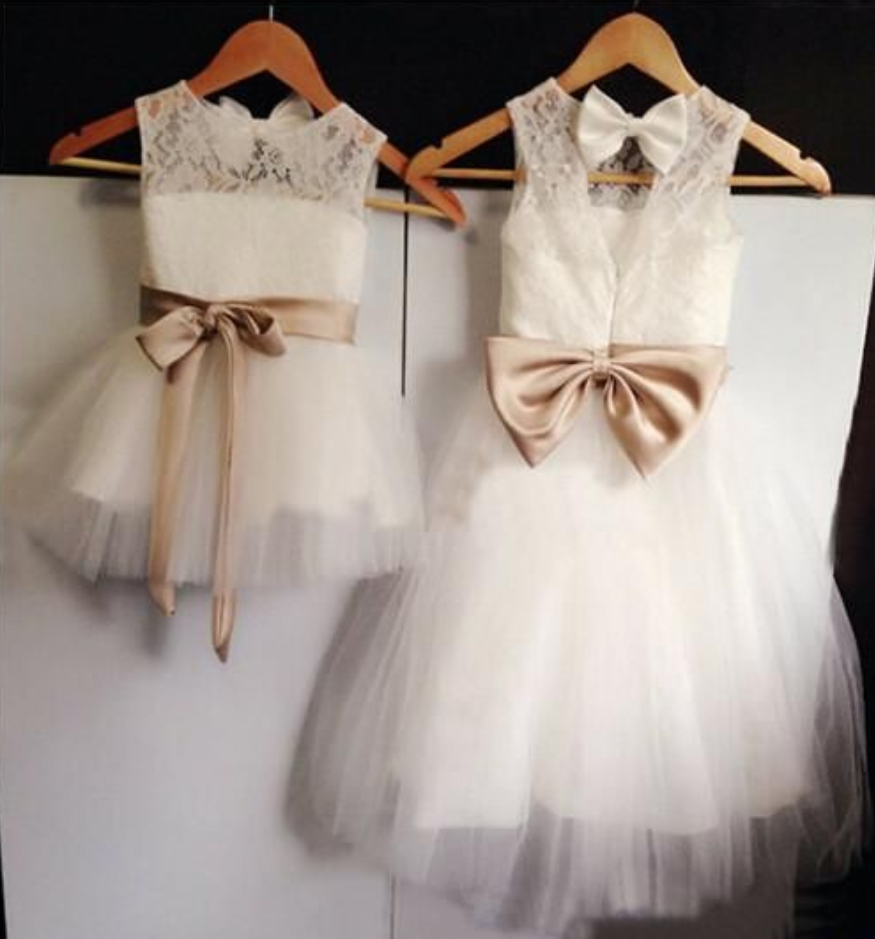 e93ae08a0efe54 30% OFF. Flower Girl Dresses Baby Girl Flower Girl Dress with Back Bow  Flower Girl Dresses For Weddings