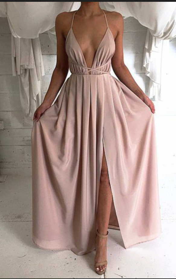 Simple Backless Prom Dresses Tumblr