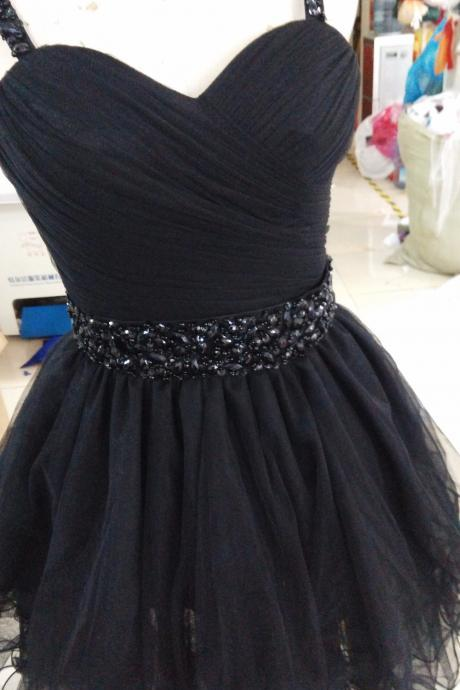 Short Dresses Sweetheart Sleeveless Lace Prom Party Dresses