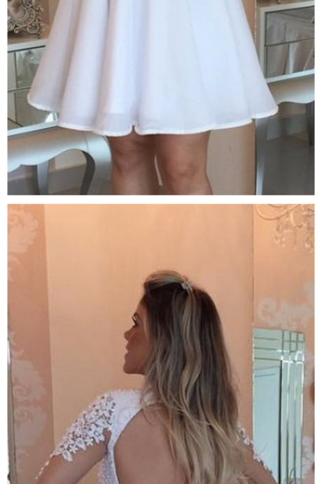 Homecoming Dresses,A-line Homecoming Dresses,Pink Homecoming Dresses,Appliques Homecoming Dresses,Short