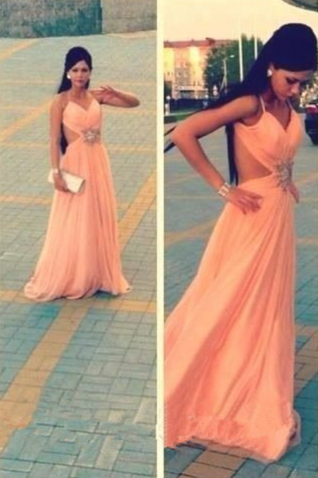 2016 Prom Dresses,Backless Evening Gowns,Sexy Formal Dresses,Open Back Prom Dresses,2016 Fashion Evening Gown,Open Backs Evening Dress,Straps Party Dress