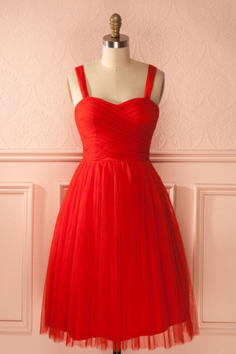 short red homecoming dress party dress, 2017 short red dancing dress party dress