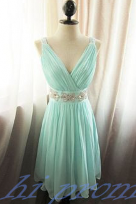 New Fashion Homecoming Dress,Light Blue Homecoming Dresses,Modest Homecoming Dress,2015 Style Party Dress,Short Prom Gown,Sweet 16 Dress,v neckline Cocktail Gowns,Evening Gowns For Teens