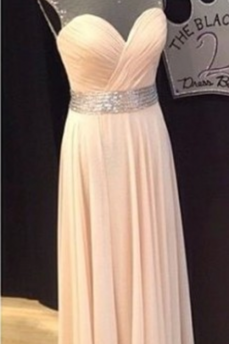 Charming Prom Dress,Elegant Prom Dresses,Chiffon Evening Dress,Backless Formal Dress
