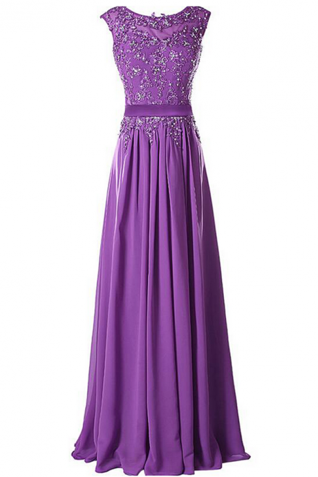 Long Prom Dress,Charming Prom Dress,Chiffon Evening Dress,Formal Dress,Women Dress