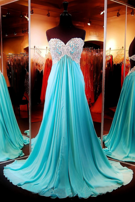 New Arrival A Line Prom Dress,Long Evening Dress,Chiffon Evening Gown,Sexy Prom Dresses