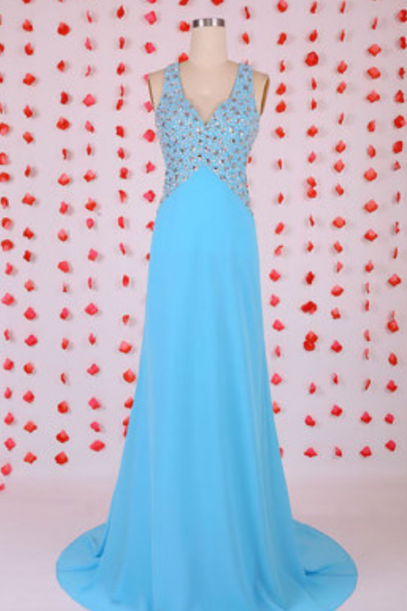 New Arrival Mermaid Prom Dress,Long Evening Dress,Chiffon Evening Gown,Sexy Prom Dresses
