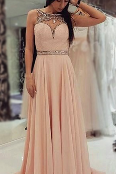 Charming Prom Dress,Long Evening Dress,Mermaid Evening Gown,Formal Evening Dress,Chiffon Prom Dresses