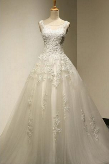 Wedding Dress, Wedding Dresses,Vintage Wedding Dresses, Ball Gown Wedding Dresses,Custom Made Wedding Dresses