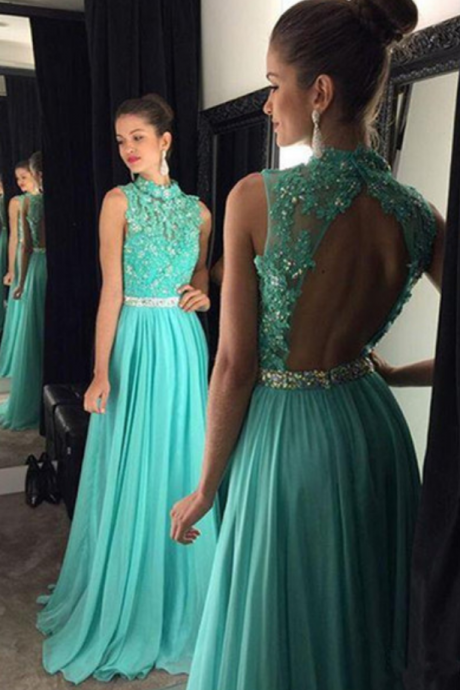 Backless Halter Prom Dress,Long Prom Dresses,Charming Prom Dresses,Evening Dress, Prom Gowns, Formal Women Dress,prom dress