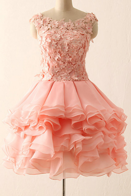 Cheap homecoming dresses,Short prom dress,Lace Homecoming Dresses,homecoming prom dress