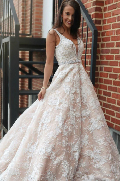 Cheap wedding dresses ,Lace Wedding Dresses Spaghetti Straps Bridal Gowns Wedding Party