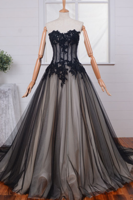 Wedding Dresses,Gothic Wedding Dress,Custom Wedding Dress,Vintage Wedding Dress,Black Wedding Dress,Sweetheart Wedding Dress,Sexy Wedding Dress,Cheap Wedding Dress,Long Bridal Dress
