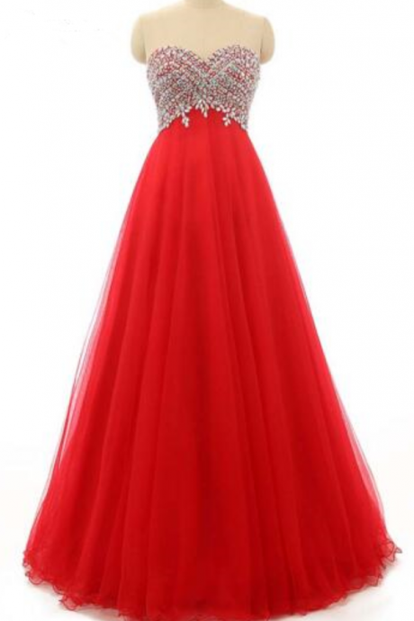 red fashion model sleeveless dress sexy beaded ball prom dress floor length cocktail dress