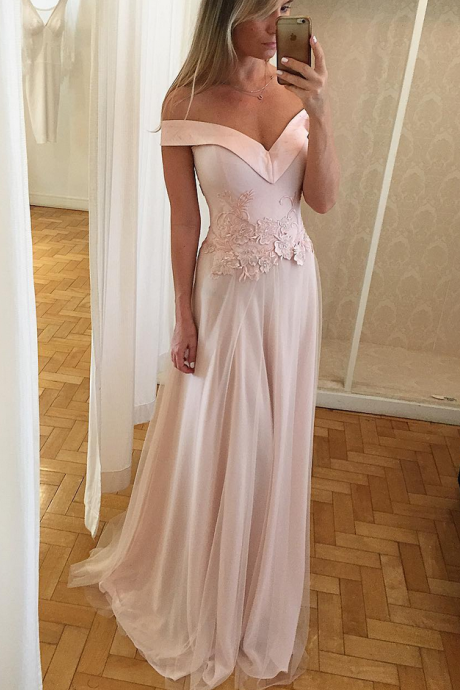Pink prom dresses Backless Formal Dresses,Short Embroidery Homecoming Dresses Customized