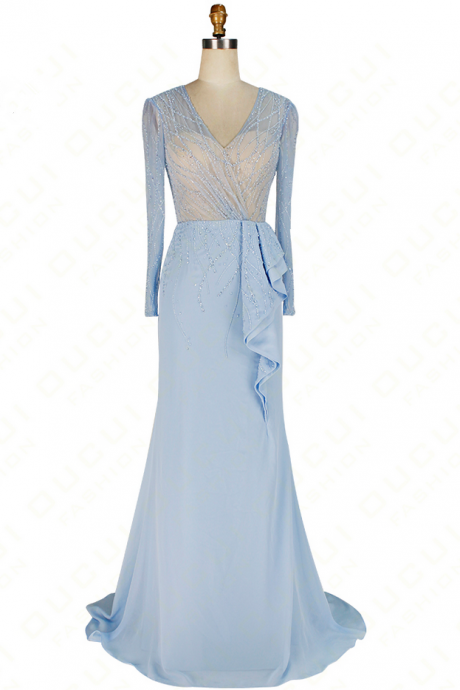 Light Blue Prom Dresses, Formal Dresses - Luulla