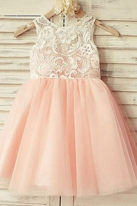 Flower Girl Dresses Blush Pink Flower Girl Dress Flower Girl Dresses For Weddings Girls Formal Party Dresses