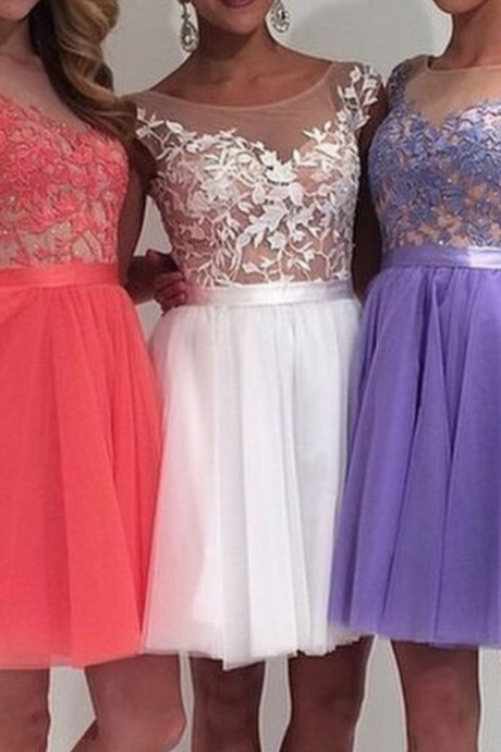 Tulle Homecoming Dresses, Lace Homecoming Dresses, Charming Homecoming Dresses, Homecoming Dresses, Juniors Homecoming Dresses, Cheap Homecoming Dresses
