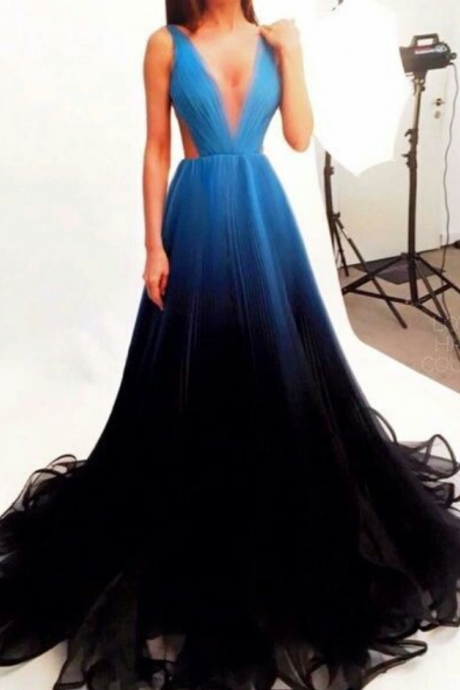 Royal Blue Prom Dresses, Prom Dress,Modest Prom Gown,Tulle Prom Gown,Blue Evening Dress,Lace Evening Gowns,Black Party Gowns