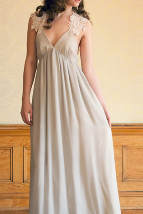 Charming Prom Dress, Sleeveless Evening Dress, A Line Long Party Dress