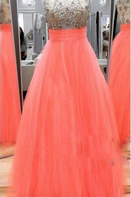 A-line Prom Dresses,Tulle Prom Dresses,Cheap Prom Dresses,Long Beaded Prom Dresses,Beaded Party Dresses,Prom Dresses Long,Sexy Prom Dresses,Prom Dresses for Girls,Sexy Party Dresses