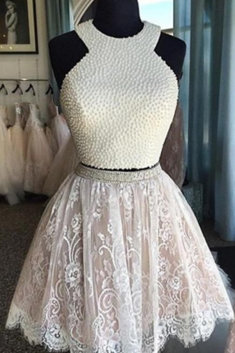Homecoming Dress, two pieces Prom Dresses, Sweet 16 Dresses,prom dress for teens,Graduation Dress,Cocktail Dresses
