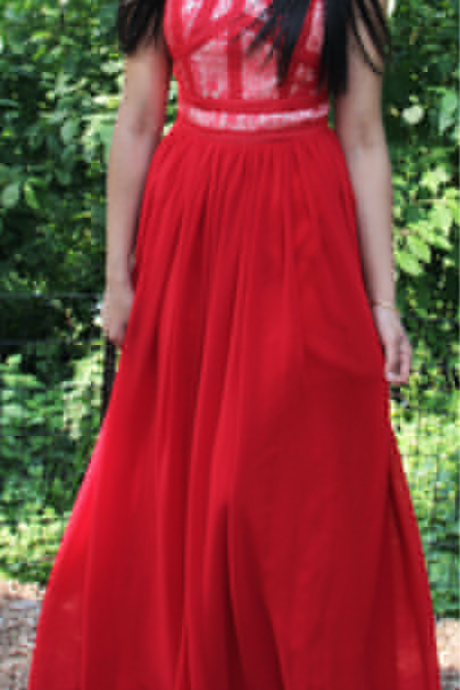 Charming Prom Dress,A-Line Prom Dress,Chiffon Prom Dress,O-Neck Evening Dress, Formal Occasion Dresses,Formal Dress