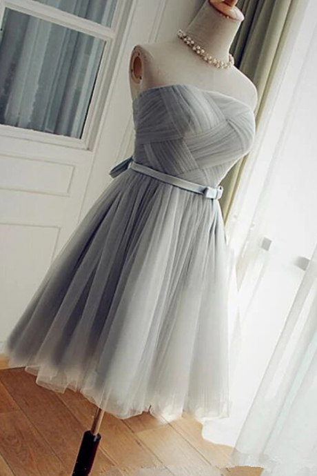 Lovely Short Party Dress, Tulle A-Line Homecoming Dress