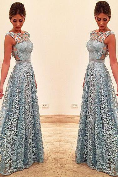 Lace Prom Dress, See-through Back Prom Dress, Long Prom Dress, Special Occasion Gowns, Prom Dresses, Party Dresses