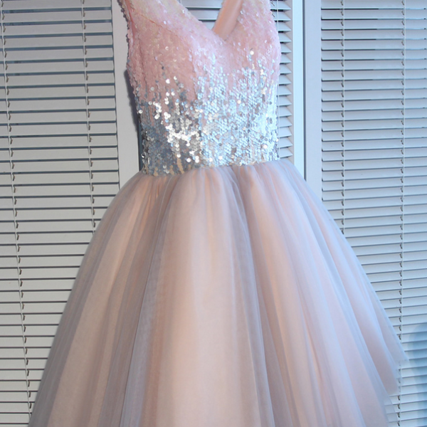 A-line Homecoming Dresses,Pink Homecoming Dresses,Beaded Homecoming Dresses,Bandage Homecoming Dresses,Short Prom Dresses,Party Dresses