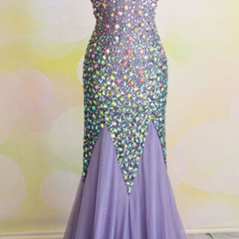 Prom Dresses,Chiffon Prom Dress,Sexy Prom Dress,Mermaid Prom Dresses,Backless Formal Gown,Open Back Evening Gowns,Sparkly Formal Dress,Prom Gown For Teens