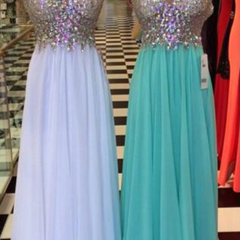 Backless Prom Dresses,Prom Dress With Cap Sleeve,A Line Prom Gown,Open Back Prom Dresses,White Evening Gowns,2016 Blue Teens Girl Dresses