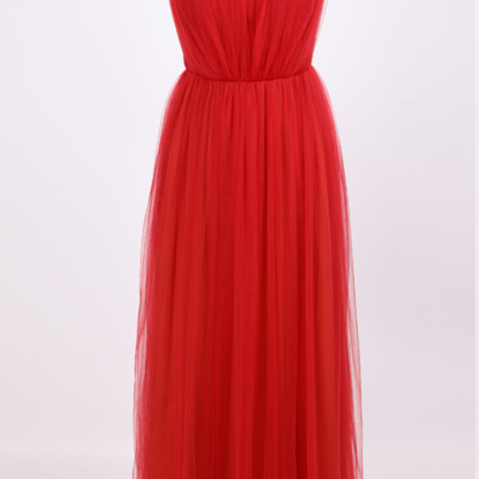 New Arrival Long Evening Dress,Formal Evening Gown,Red Prom Dress,Prom Dresses