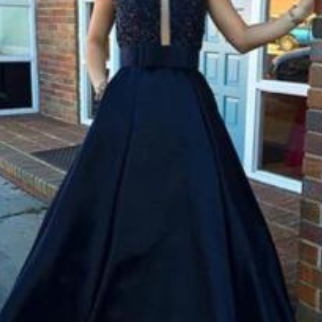 Sexy Backless O-Neck Prom Dresses,Long Prom Dresses,Cheap Prom Dresses, Evening Dress Prom Gowns, Formal Women Dress,Prom Dress