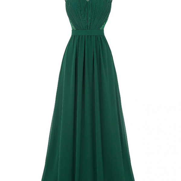 Lace Prom Dresses Long Royal Blue Green Black White Evening Dress with Stones Chiffon Prom Dresses