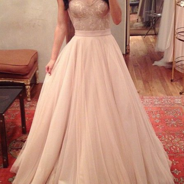 Charming Prom Dress,Sweetheart Prom Dress,A-Line Prom Dress,Noble Prom Dress,Tulle Prom Dress
