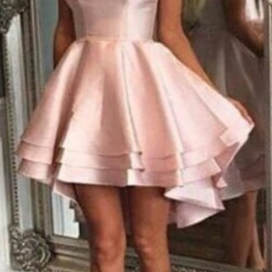 Charming Prom Dress,Pink Prom Dress,Mini Prom Dress,Fashion Homecoming Dress,Sexy Party Dress, New Style Evening Dress