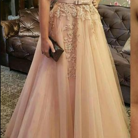 Sparkle prom dress A Line party dress appliques dress Spaghetti party dress Strap Long Prom Dresses